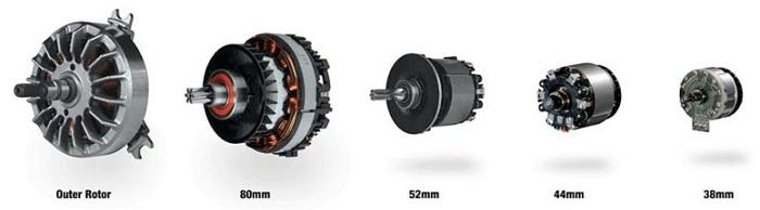 В линейке Makita LXT используется 5 двигателей BL