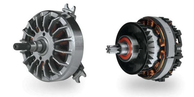 Внешнероторный и внутрироторный двигатель