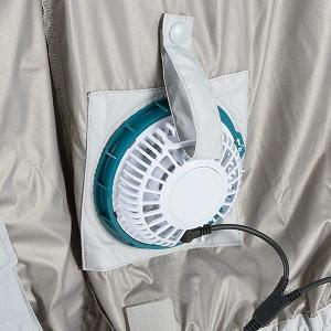 вентилятор встроенный в куртку